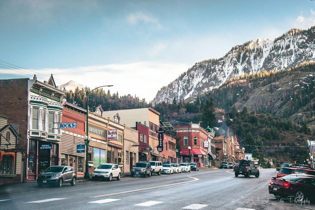 Ouray, Colorado is off-the-beaten-track