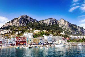 A town on the Amalfi Coast