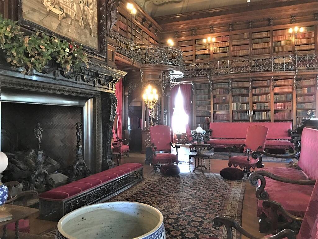 Library at Biltmore Mansion