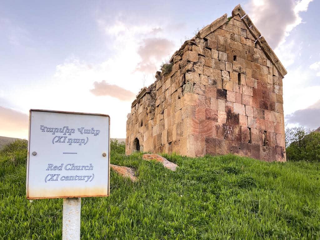 Monastery ruin in Armenia