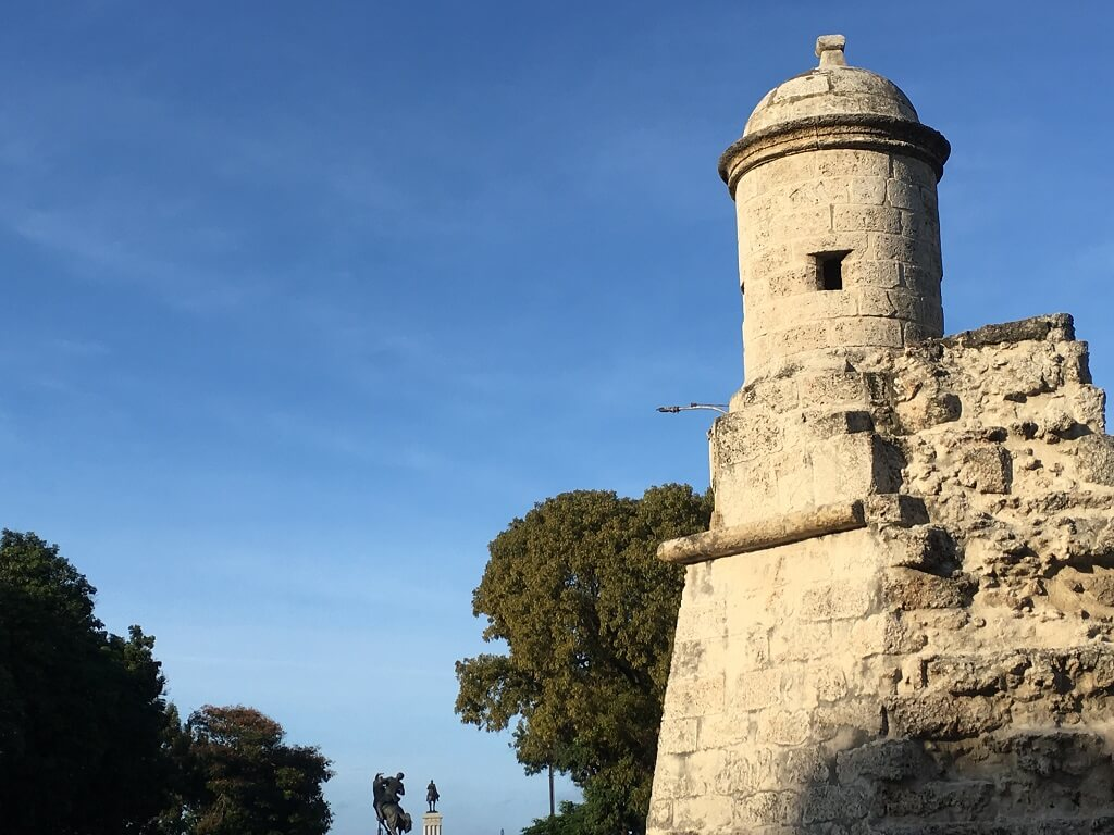 Colonial lookout tower