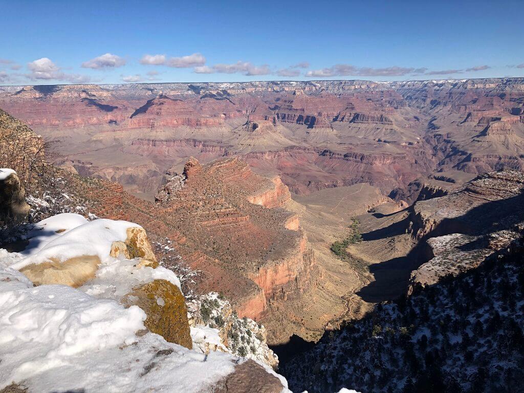 Grand Canyon seen on RV adventure