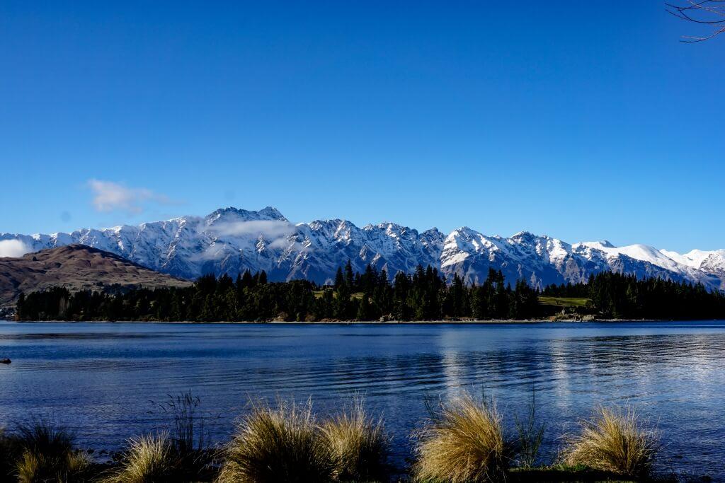 Lake Wakatipu in Otago, New Zealand