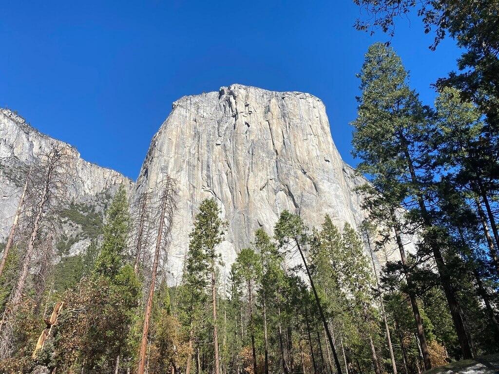 El Capitan seen on an RV adventure