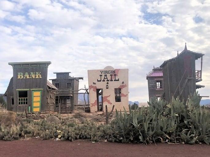 Jail in Virgin Utah