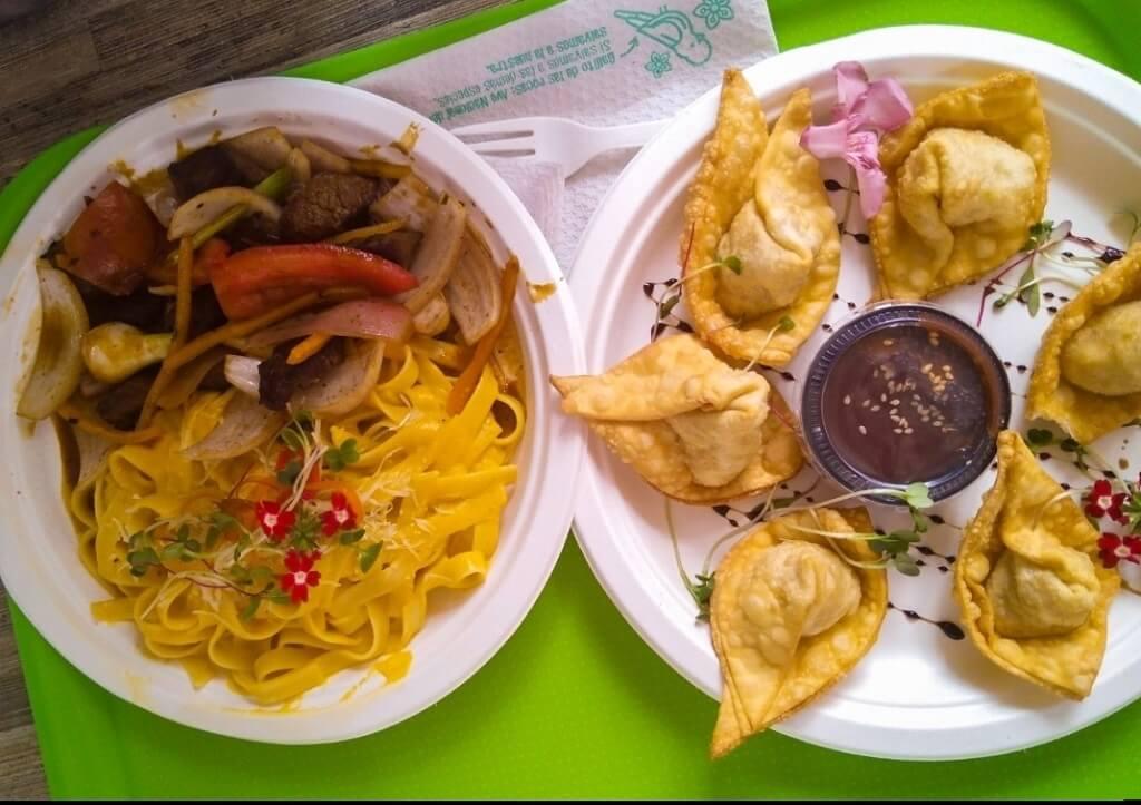 Chifa fusion cuisine of Peru