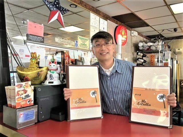 La Estrella restaurant in NYC. Chino-Latino fusion cuisine