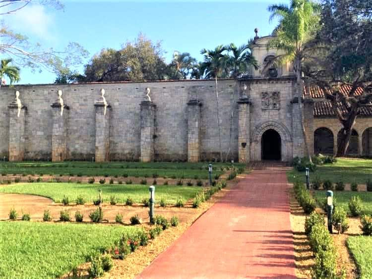 Ancient Spanish Monastery in Miami.
