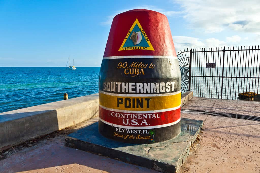 Attraction in Key West, one of the best cities near Miami.