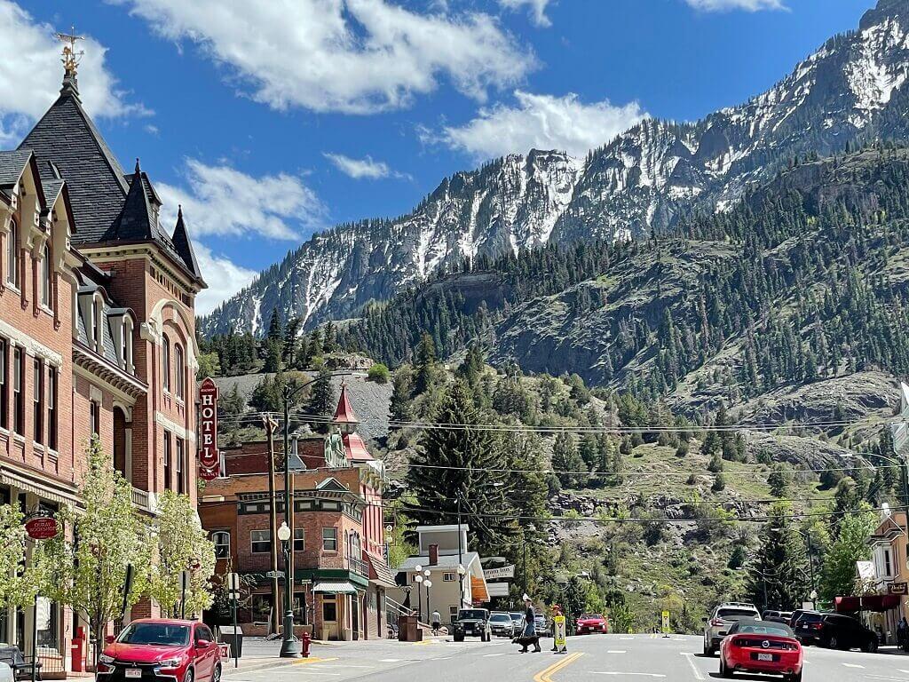 Ouray, Colorado, a beautiful southwest Colorado town