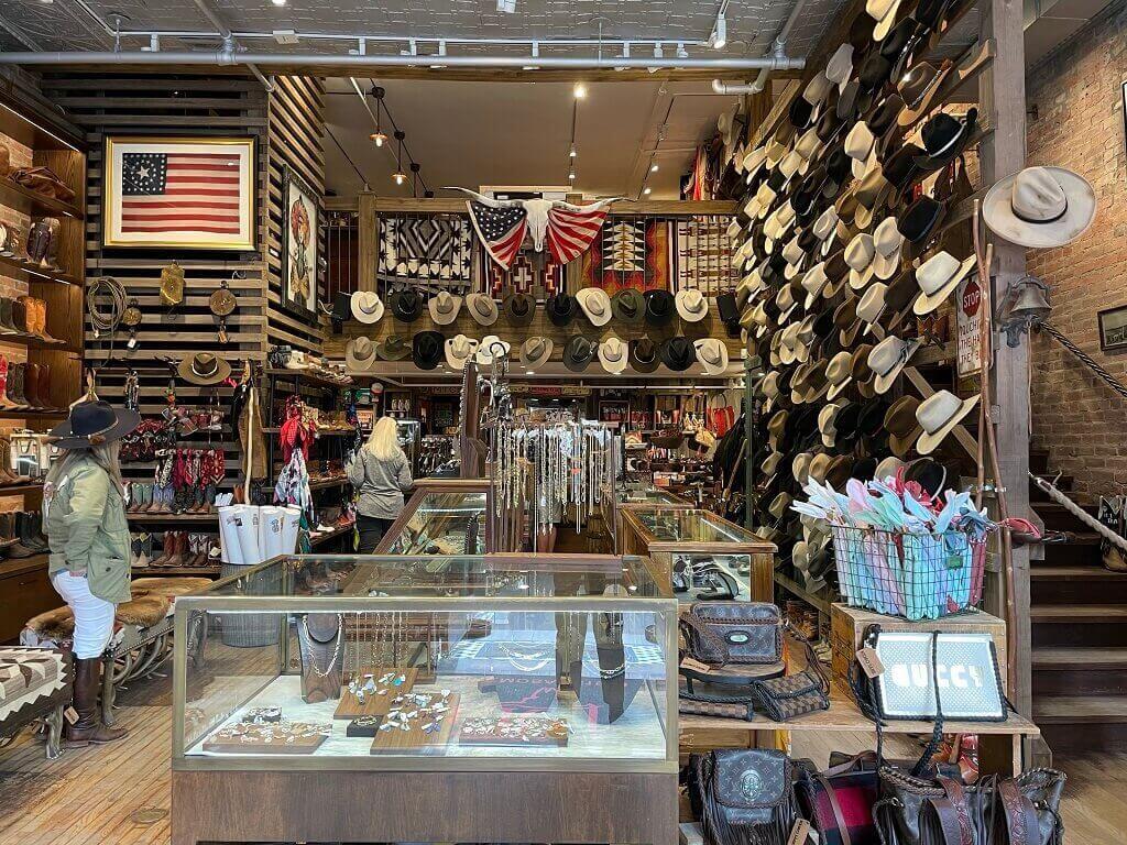 A western store in Aspen, Colorado