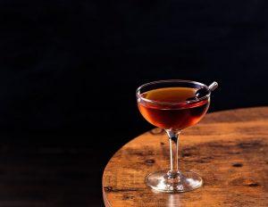 A Manhattan cocktail