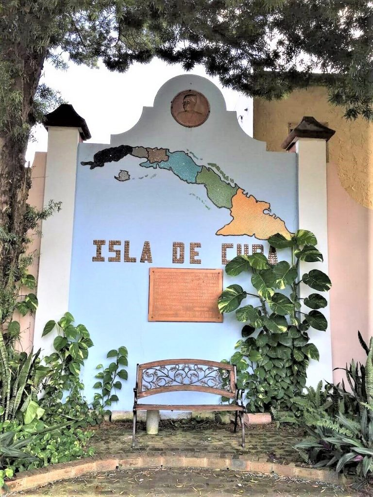 Mural at the Jose Marti Park in Tampa, Florida