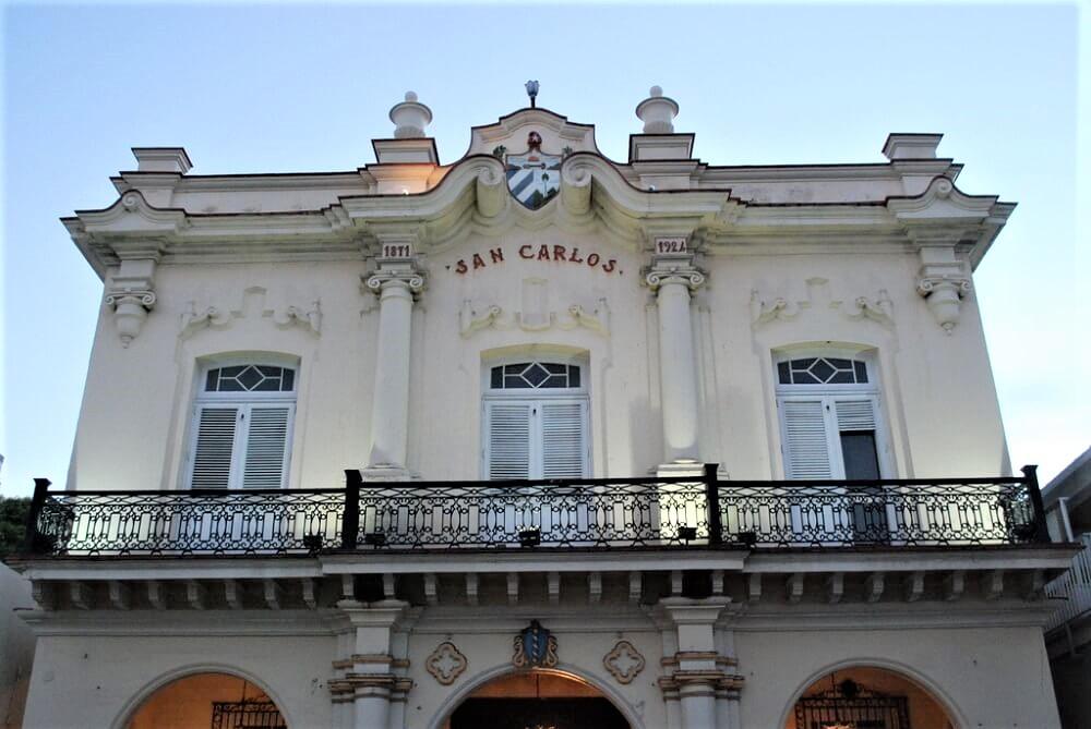 San Carlos Institute in Key West, Florida. A center of Cuban culture