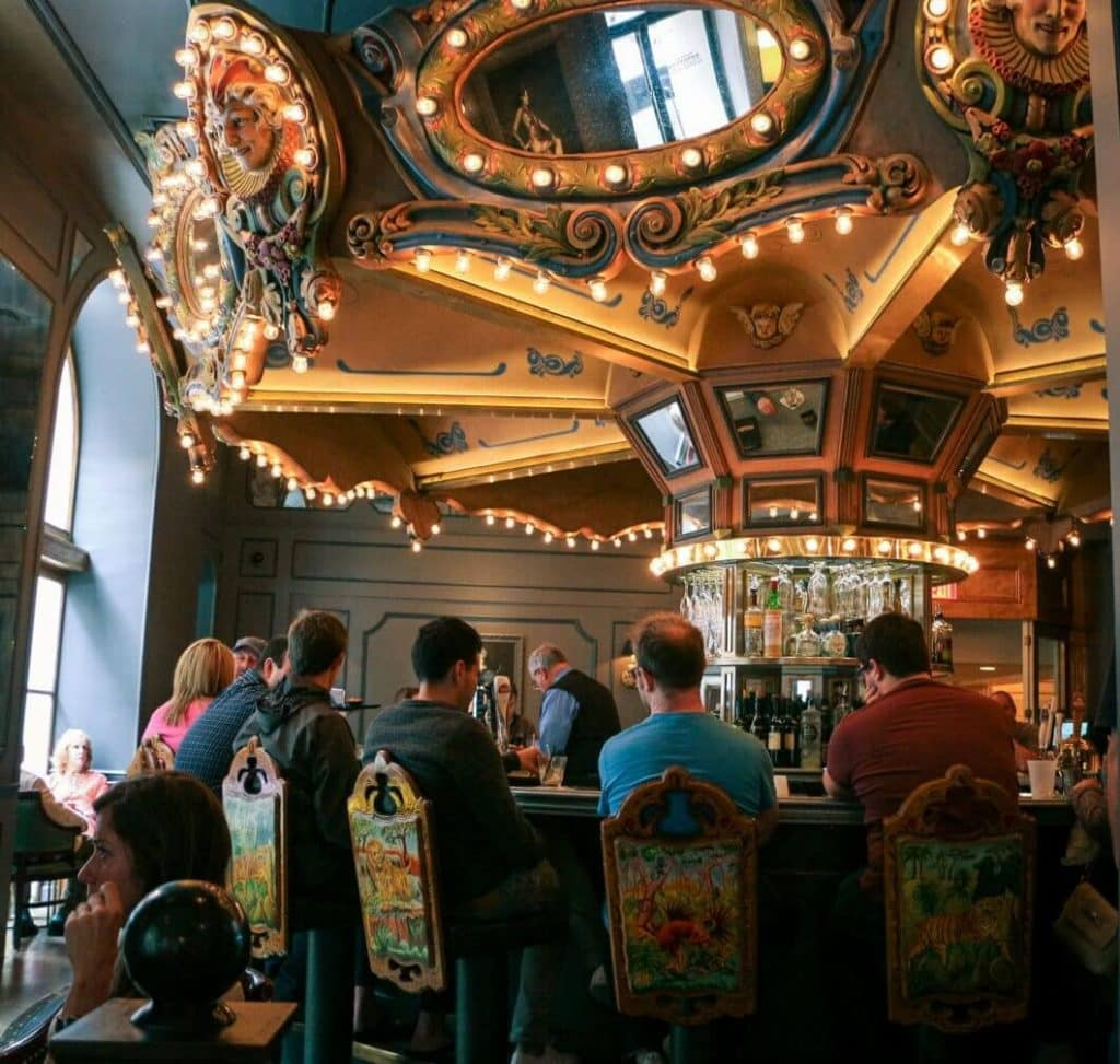 The Monteleone Carousel Bar in New Orleans