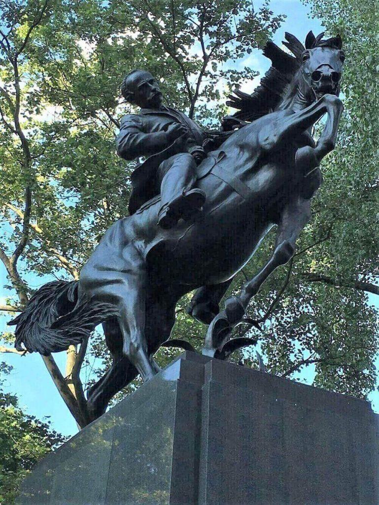 Statue of Jose Marti in New York City