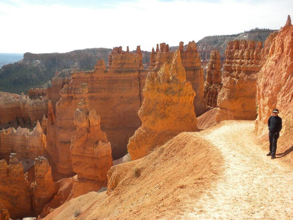 The hoodoos of Utah seen on a Utah to Arizona road trip